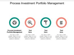 Process Investment Portfolio Management Ppt Powerpoint Presentation Styles Good Cpb