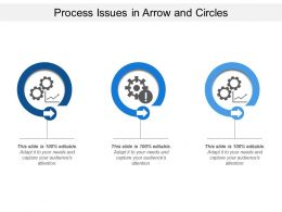 Process Issues In Arrow And Circles