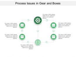Process Issues In Gear And Boxes