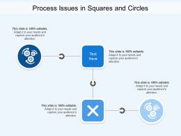 Process Issues In Squares And Circles