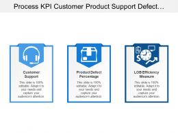 Process Kpi Customer Product Support Defect Lob Measure