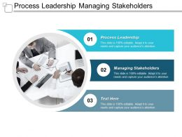 Process Leadership Managing Stakeholders Strategy Swot Team Building Leadership Cpb