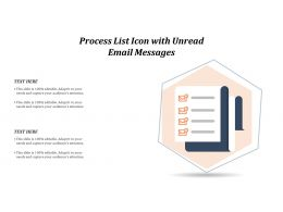 Process List Icon With Unread Email Messages