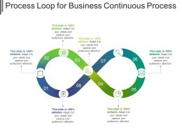 Process Loop For Business Continuous Process Ppt Samples