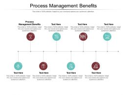 Process Management Benefits Ppt Powerpoint Presentation Infographic Template Guide Cpb