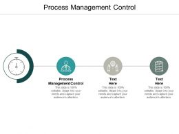 Process Management Control Ppt Powerpoint Presentation Icon Clipart Images Cpb