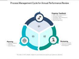 Process Management Cycle For Annual Performance Review