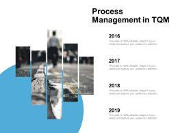 Process Management In Tqm Timeline 4 Year Ppt Powerpoint Presentation Slides Layout