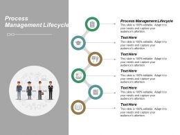 Process Management Lifecycle Ppt Powerpoint Presentation File Pictures Cpb