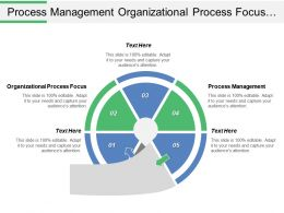 Process Management Organizational Process Focus Organizational Process Definition