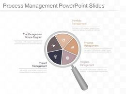 Process Management Powerpoint Slides