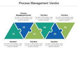 Process Management Vendor Ppt Powerpoint Presentation Model Background Cpb