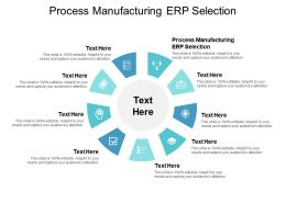 Process Manufacturing ERP Selection Ppt Powerpoint Presentation Summary Layout Cpb