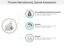 Process Manufacturing Special Assessment Ppt Powerpoint Presentation Styles Diagrams Cpb