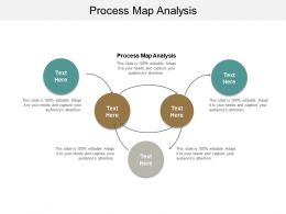 Process Map Analysis Ppt Powerpoint Presentation Icon Good Cpb