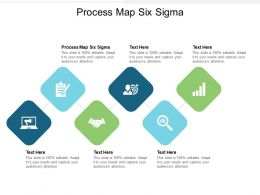 Process Map Six Sigma Ppt Powerpoint Presentation Icon Maker Cpb