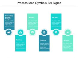 Process Map Symbols Six Sigma Ppt Powerpoint Professional Clipart Images Cpb