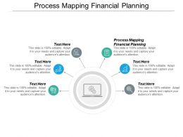 Process Mapping Financial Planning Ppt Powerpoint Presentation Layouts Slide Download Cpb