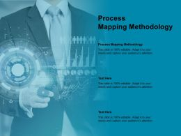 Process Mapping Methodology Ppt Powerpoint Presentation Gallery Slideshow Cpb