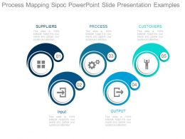 Process Mapping Sipoc Powerpoint Slide Presentation Examples