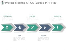 Process Mapping Sipoc Sample Ppt Files