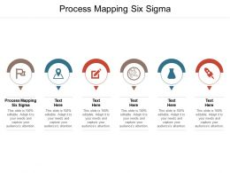 Process Mapping Six Sigma Ppt Powerpoint Presentation Ideas Graphic Tips Cpb