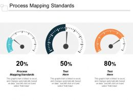 Process Mapping Standards Ppt Powerpoint Presentation Styles Tips Cpb
