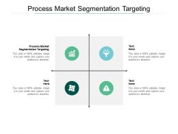 Process Market Segmentation Targeting Ppt Powerpoint Presentation Inspiration Cpb