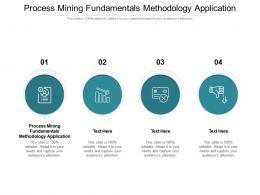 Process Mining Fundamentals Methodology Application Ppt Powerpoint Presentation Clipart Cpb