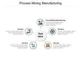 Process Mining Manufacturing Ppt Powerpoint Presentation File Picture Cpb