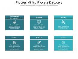 Process Mining Process Discovery Ppt Powerpoint Presentation Pictures File Formats Cpb