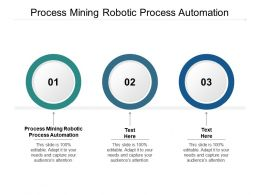 Process Mining Robotic Process Automation Ppt Powerpoint Presentation Icon Mockup Cpb