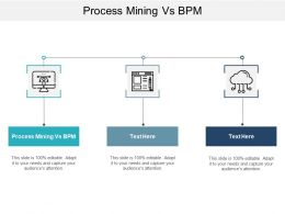 Process Mining Vs BPM Ppt Powerpoint Presentation Infographics Pictures Cpb
