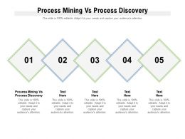 Process Mining Vs Process Discovery Ppt Powerpoint Presentation Gallery Maker