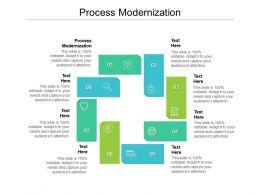 Process Modernization Ppt Powerpoint Presentation Slides Gridlines Cpb
