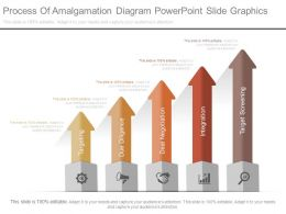 Process Of Amalgamation Diagram Powerpoint Slide Graphics