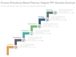 Process Of Audience Based Planning Diagram Ppt Samples Download