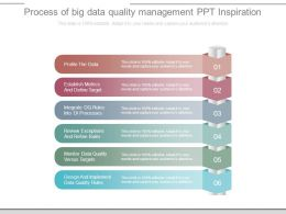 Process Of Big Data Quality Management Ppt Inspiration