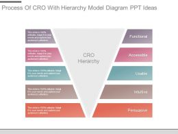 Process Of Cro With Hierarchy Model Diagram Ppt Ideas