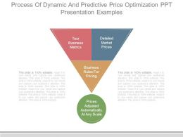 Process Of Dynamic And Predictive Price Optimization Ppt Presentation Examples
