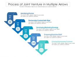 Process Of Joint Venture In Multiple Arrows