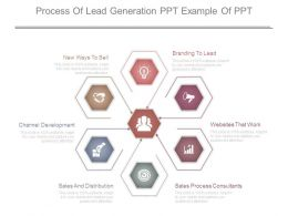 Process Of Lead Generation Ppt Example Of Ppt