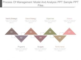 Process Of Management Model And Analysis Ppt Sample Ppt Files