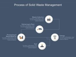 Process Of Solid Waste Management