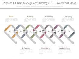 Process Of Time Management Strategy Ppt Powerpoint Ideas