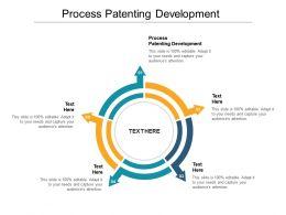 Process Patenting Development Ppt Powerpoint Presentation Slides Deck Cpb