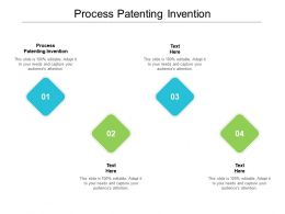 Process Patenting Invention Ppt Powerpoint Presentation Pictures Ideas Cpb