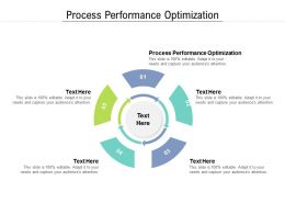 Process Performance Optimization Ppt Powerpoint Presentation Inspiration Influencers Cpb