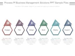 Process Pf Business Management Solutions Ppt Sample Files