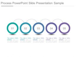 Process Powerpoint Slide Presentation Sample